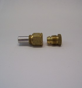 This is a photo of a Suburban Pilot Burner Orifice #411030.