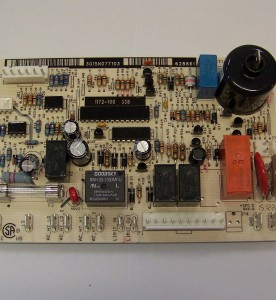 This is a photo of a Norcold Refrigerator Power Board #628661.