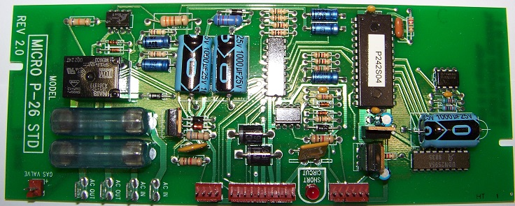 Photo of a Micro P-26 Board #MICRO-P-26-STD