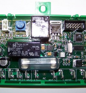 This is a photo of a Dometic Refrigerator Control Board #E40H.