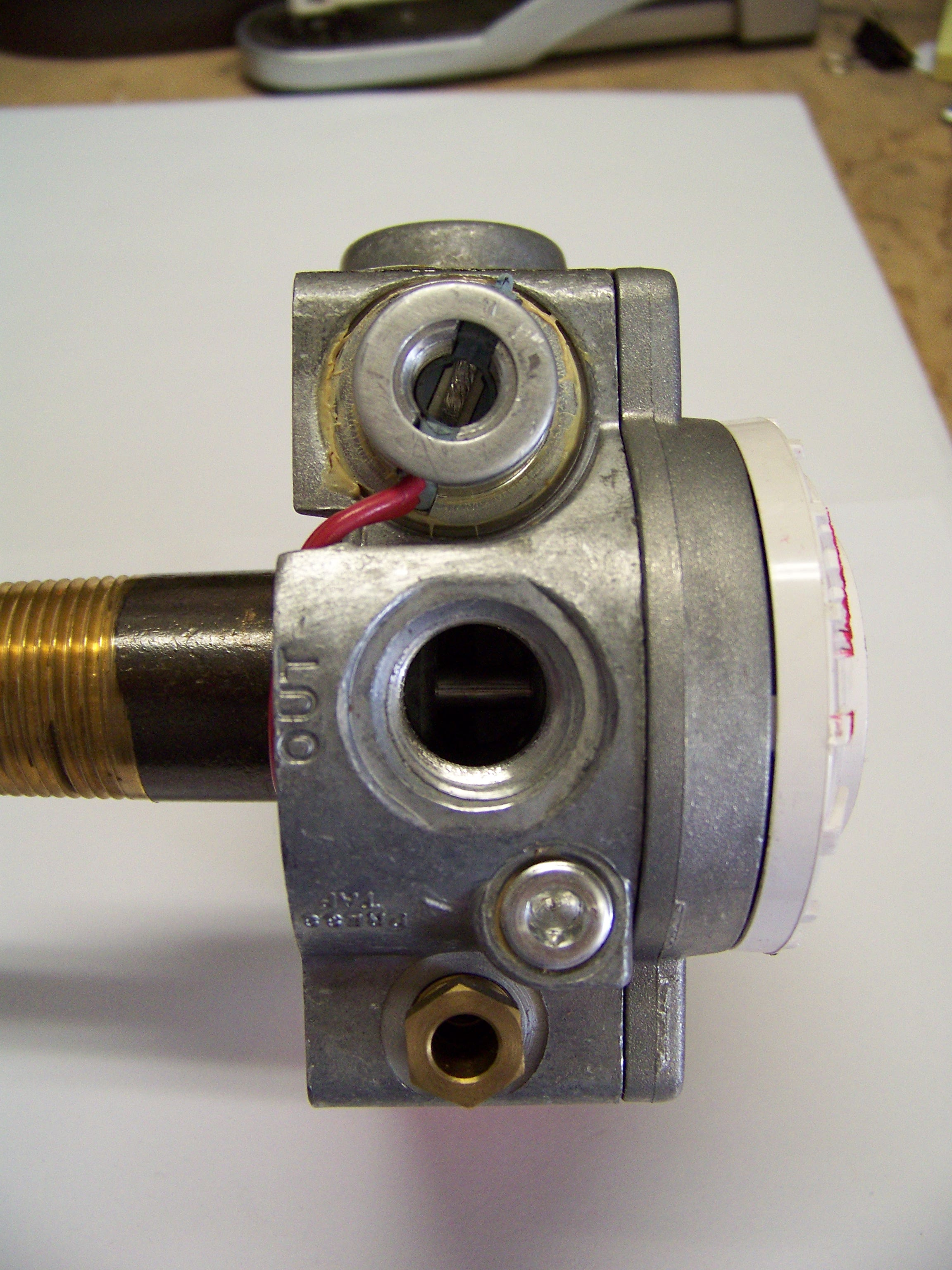 Photo of a Water Heater Gas Control Valve #8601