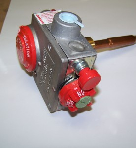 This is a photo of a Water Heater Gas Valve #110508.