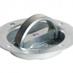 This is a photo of a Rotating Recessed Heavy Duty D-Ring #B901D.