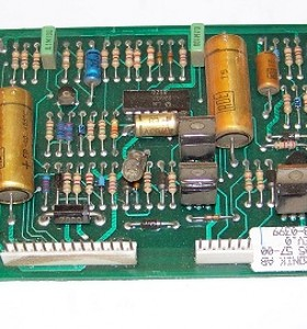 This is a photo of a Dometic Refrigerator Control Board #8750035119.