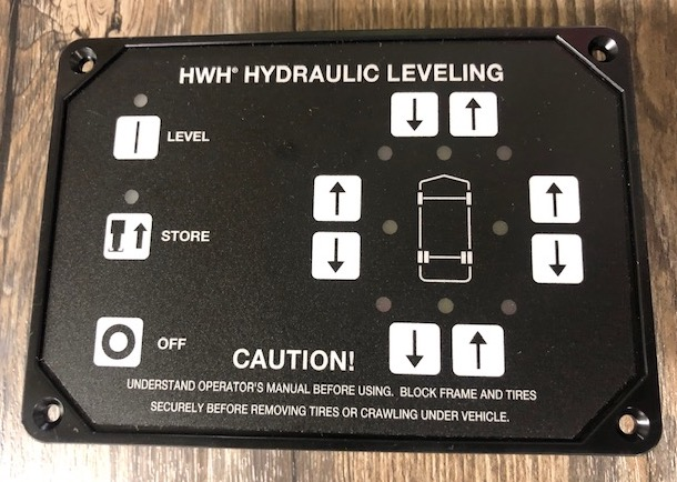 Photo of a HWH Control Touch Pad #RAP90938