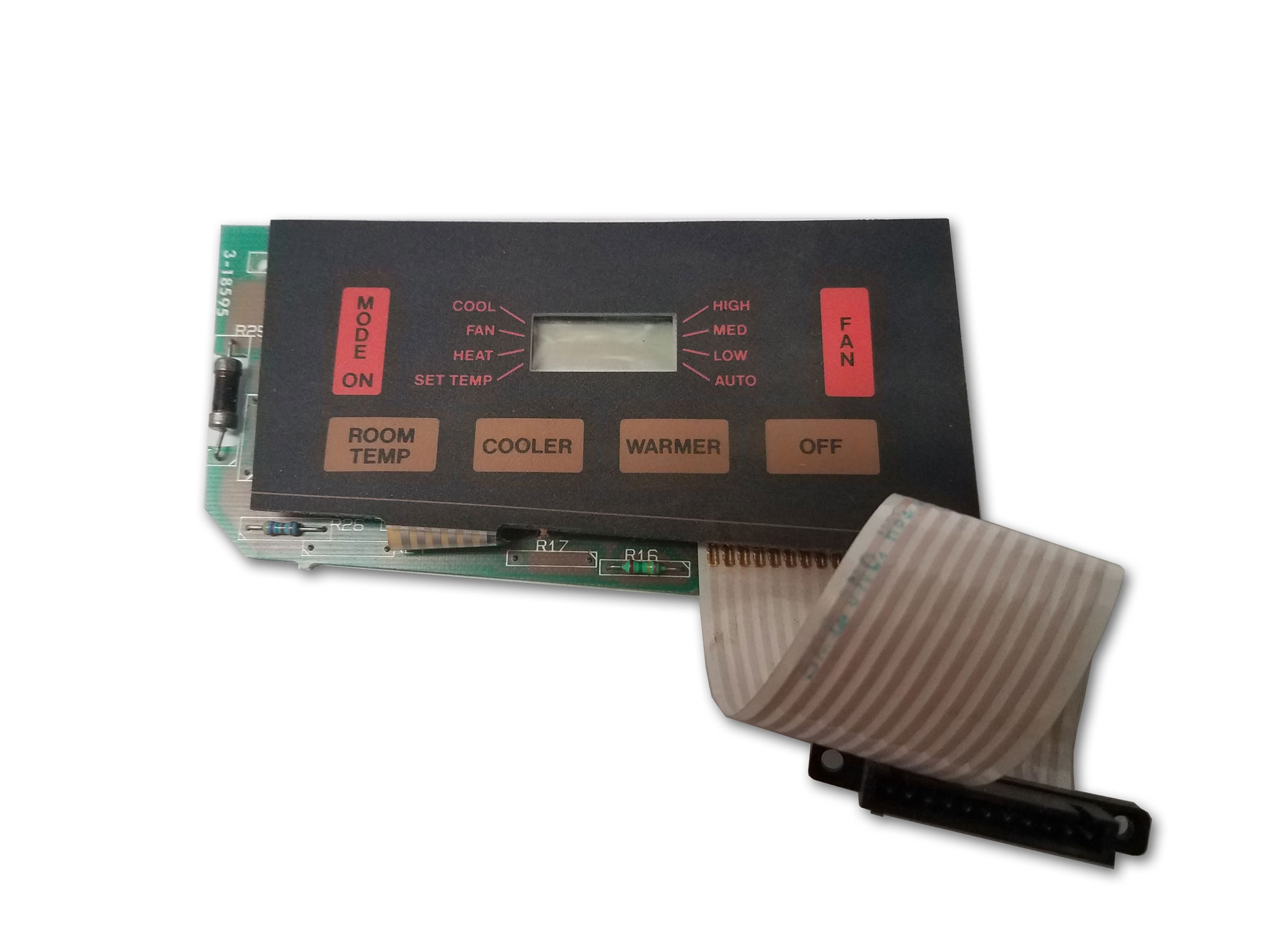 Photo of a Duo-Therm Touch Pad Thermostat #318595.000