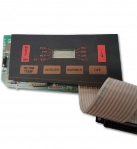 This is a photo of a Duo-Therm Touch Pad Thermostat #318595.000.